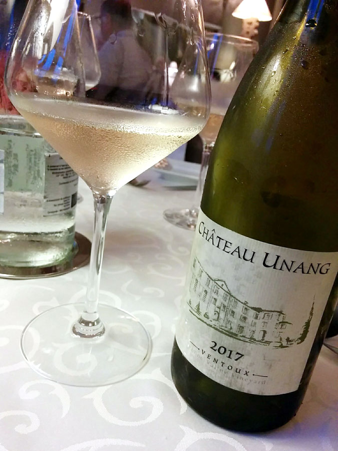 Château Unang Ventoux Blanc 2017