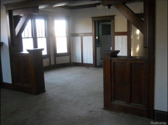 dining room of Sears Hawthorne 16770  Rockdale St, Detroit, Michigan-demolished