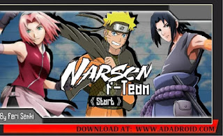 Download Naruto Senki F-Team Mod by Fery Apk link by mediafire for Android