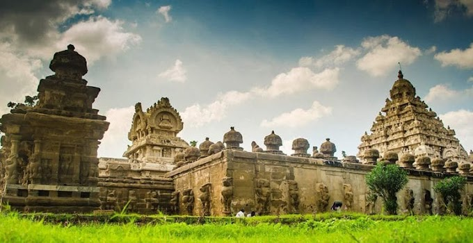 """""""Land of the Thousand Temples"""" Kancheepuram in India"""