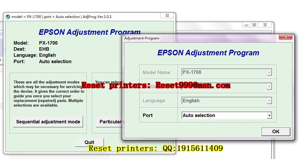 how to find epson printer email address
