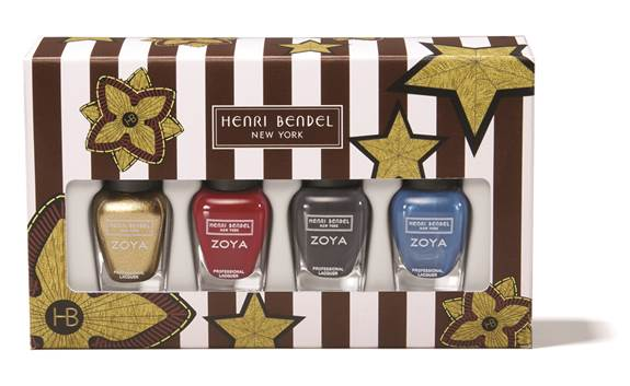 boxed set of nail polish