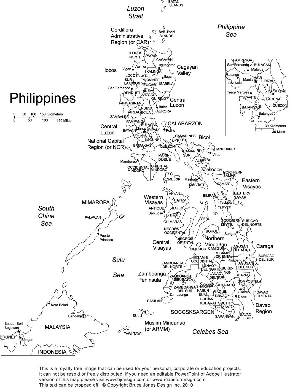 Mapa Ng Pilipinas Drawing