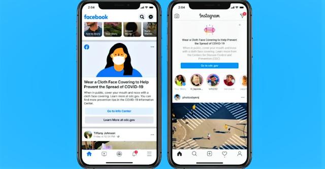 Facebook and Instagram Mask