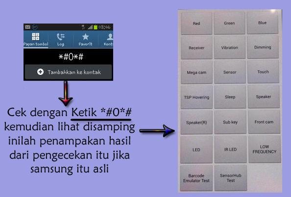 Cara Membedakan Samsung Asli atau Replika ( Palsu )