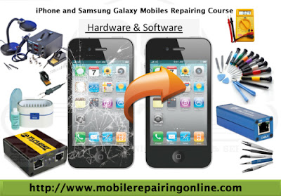 iPhone and Samsung mobiles hardware repairing course