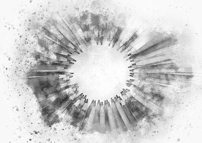 lapis-em-imagem-preto-e-branco