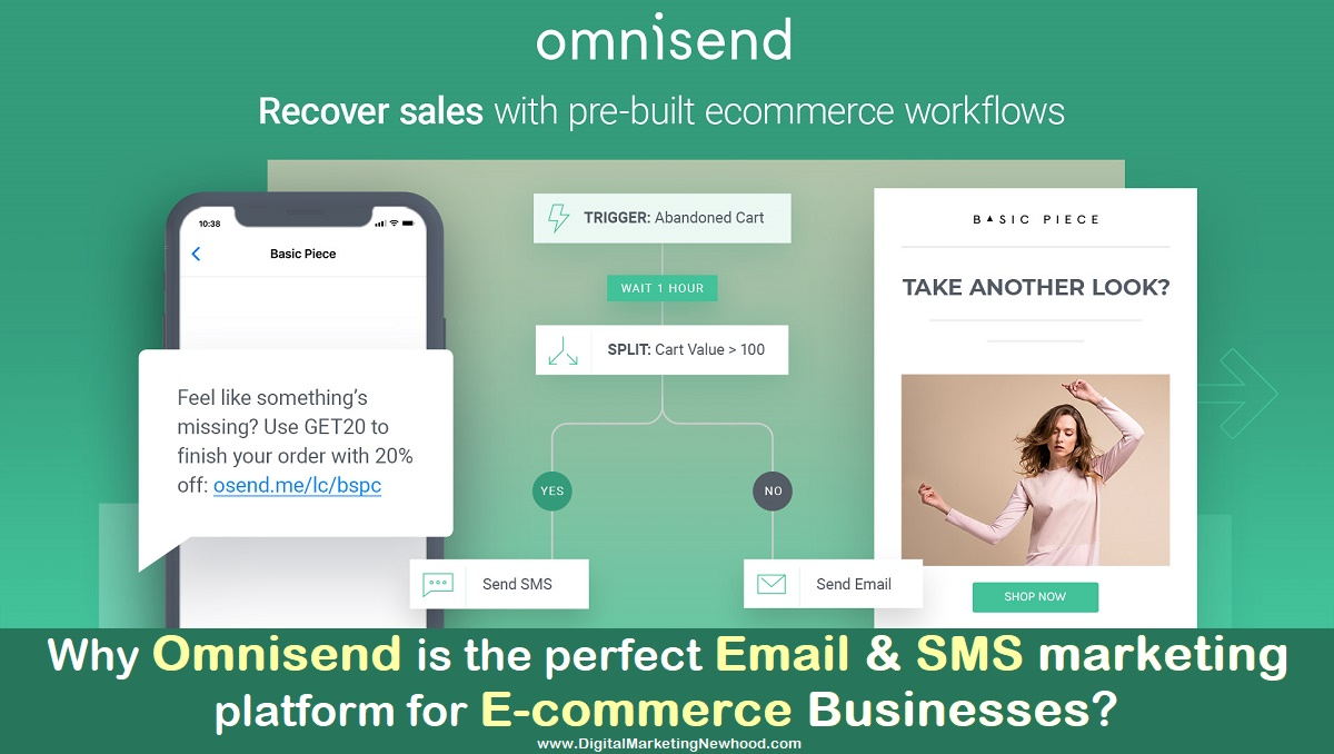 Why Omnisend is the perfect Email & SMS marketing platform for E-commerce businesses?