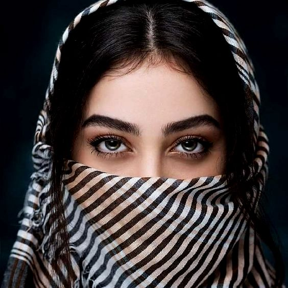 Egypt Girl Eyes DP in Hijab