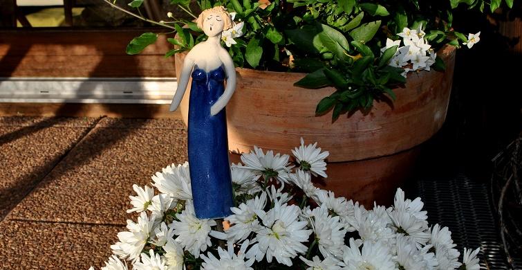 Verlosung einer Gartenfigur