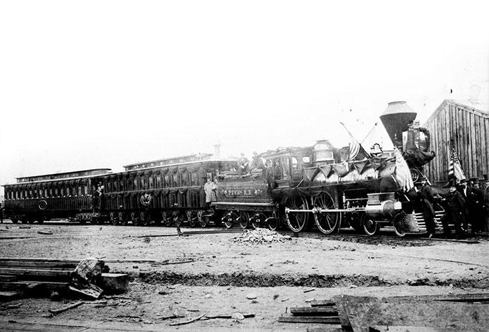 Kereta Hantu Abraham Lincoln