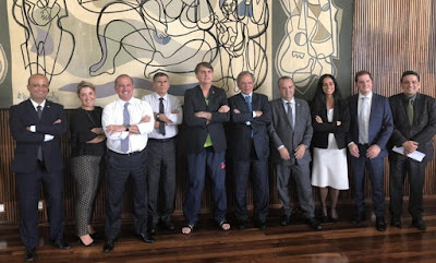 Bolsonaro e equipe