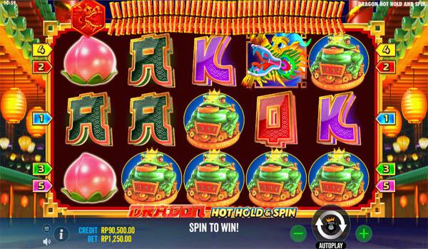 Main Gratis Slot Indonesia - Dragon Hot Hold And Spin Pragmatic Play