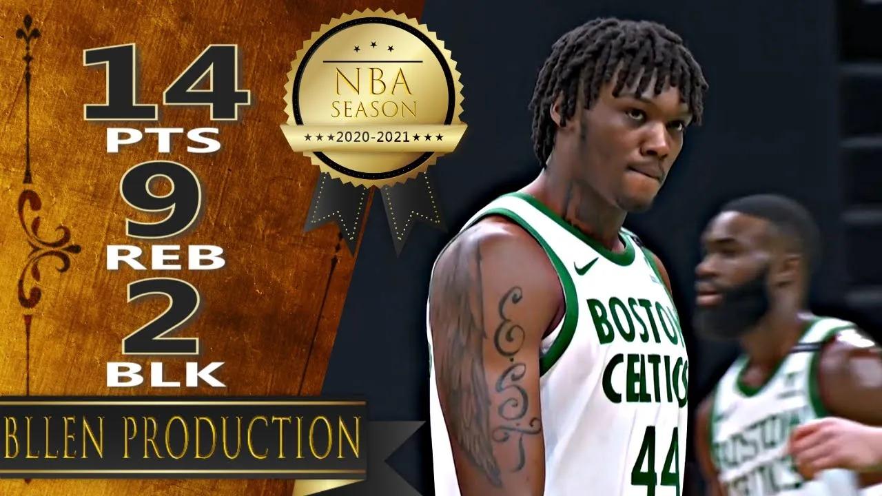 Robert Williams III 14pts 9reb 2blk vs UTA   March 16, 2021   2020-21 NBA Season