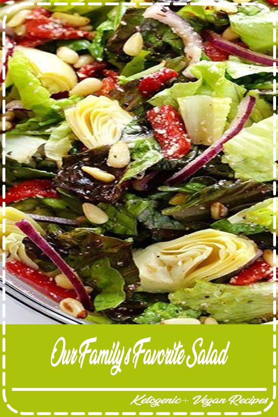 You will love this bright and colorful favorite family salad Our Family's Favorite Salad