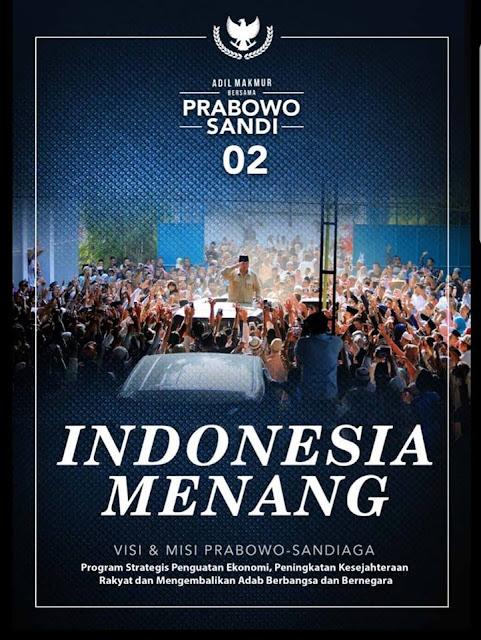 Indonesia Menang, Indonesia Adil Makmur