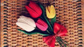 Modelo de tulipán