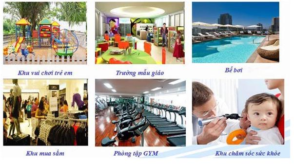 Tiện ích sống tại Hinode City Minh Khai