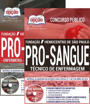 apostila Fundação Pró-Sangue SP Baixar