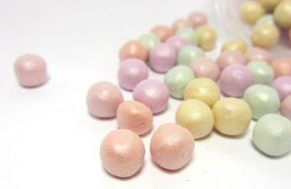 essence shimmer pearls vs. Guerlain Les Météorites