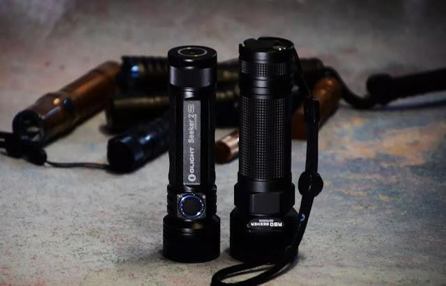 waterproof LED flashlight