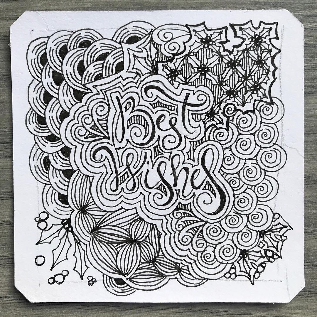 01-Best-Wishes-Chantal-Hand-Drawn-Zentangle-Shapes-Illustrations-www-designstack-co