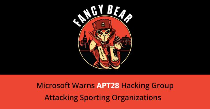 Microsoft Warns APT28 Hacking Group Attacking Sporting Organizations Around the World
