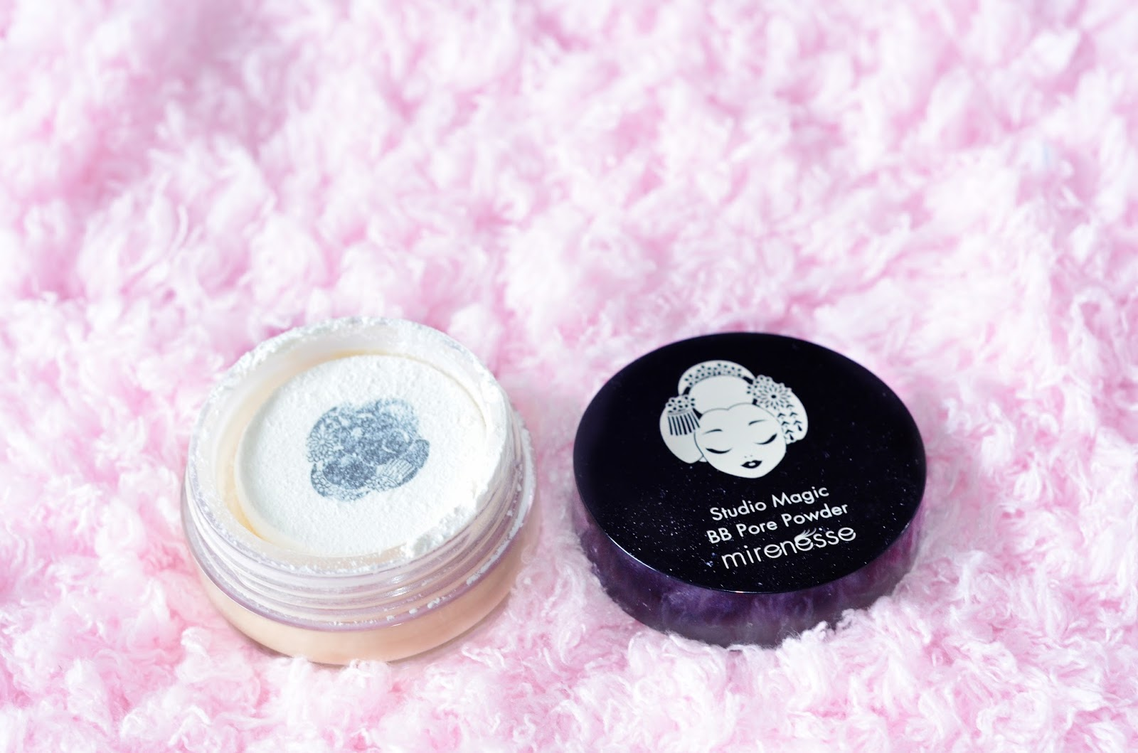 mirenesse studio magic bb pore powder review
