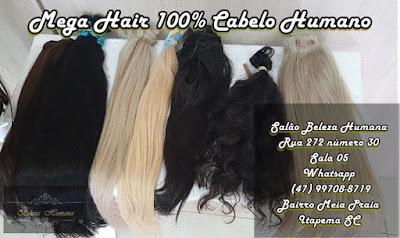 Mega Hair em Itapema