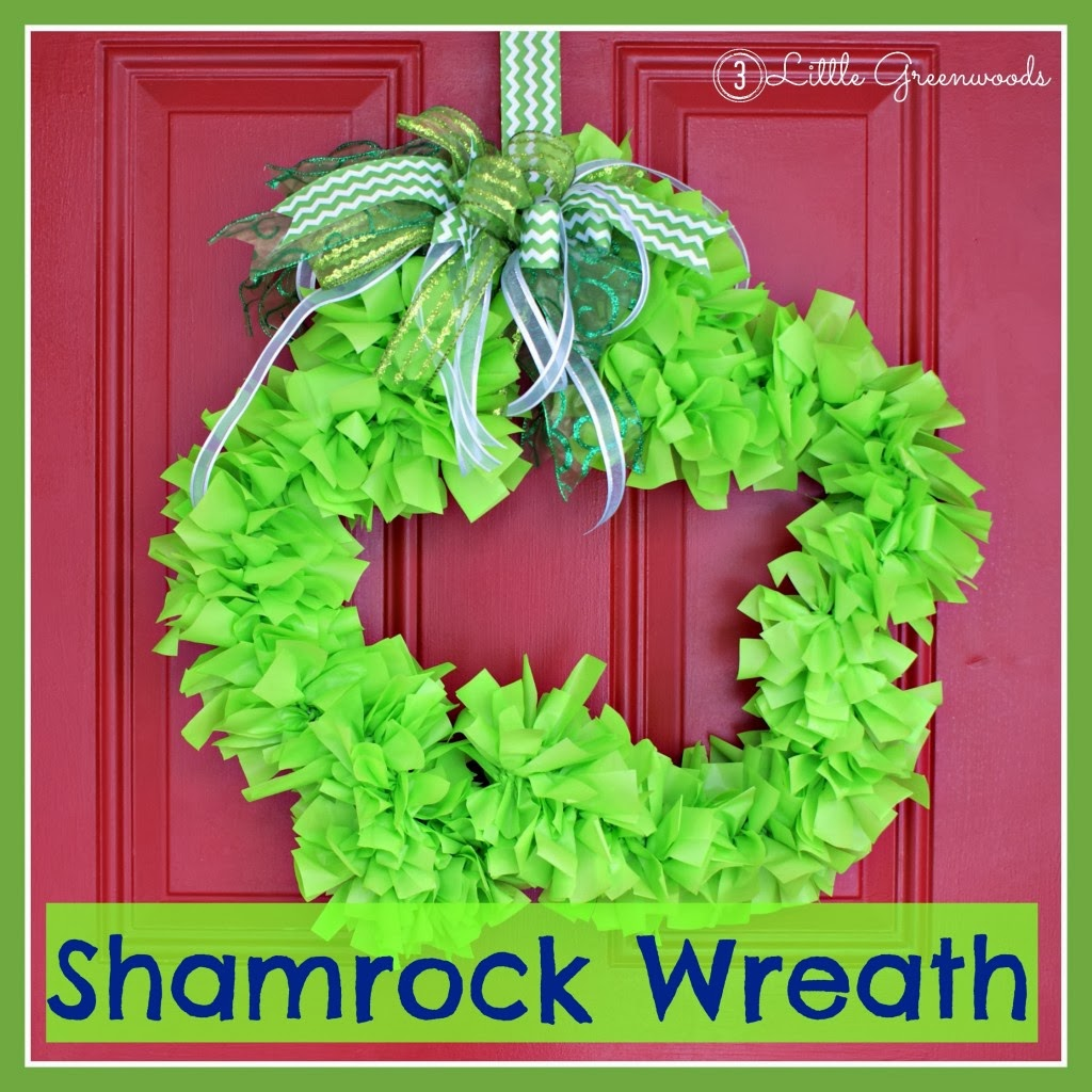 shamrock-wreath