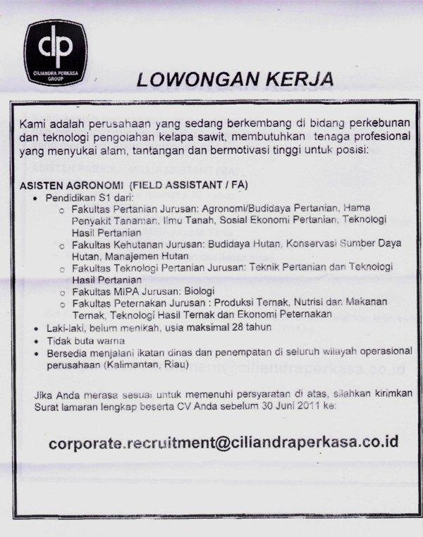 Lowongan Kerja Koki Terbaru 2013 Portal Info Lowongan Kerja Di Yogyakarta Terbaru 2016 Saat Ini Membutuhkan Tenaga Profesional Yang Menyukai Alam Tantangan