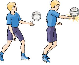 Teknik Dasar Bola Voli Bagi Pemula