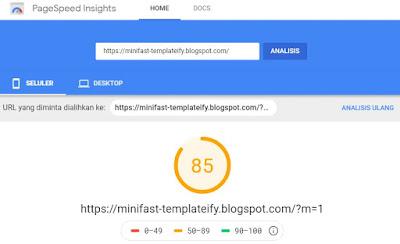 Minifast-Template Blog Responsive Dan Fast Loading Dari Templateify