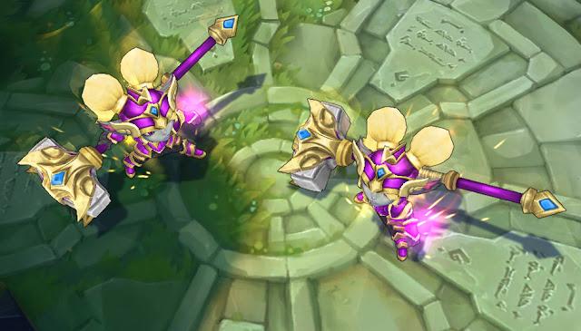 Mod Skin Poppy Battle Regalia Golden Purple