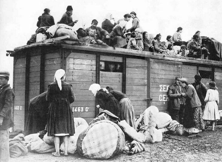 Η εκκένωση της Αν. Θράκης τον Οκτώβριο του 1922 - Ακολουθώντας το τρένο της προσφυγιάς Αδριανούπολη - Αλεξανδρούπολη - Δράμα