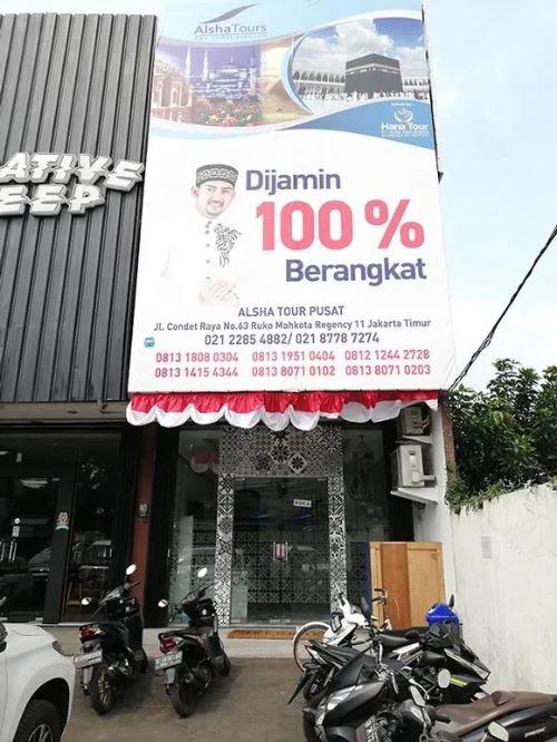 Kantor Alsha Travel Bekasi