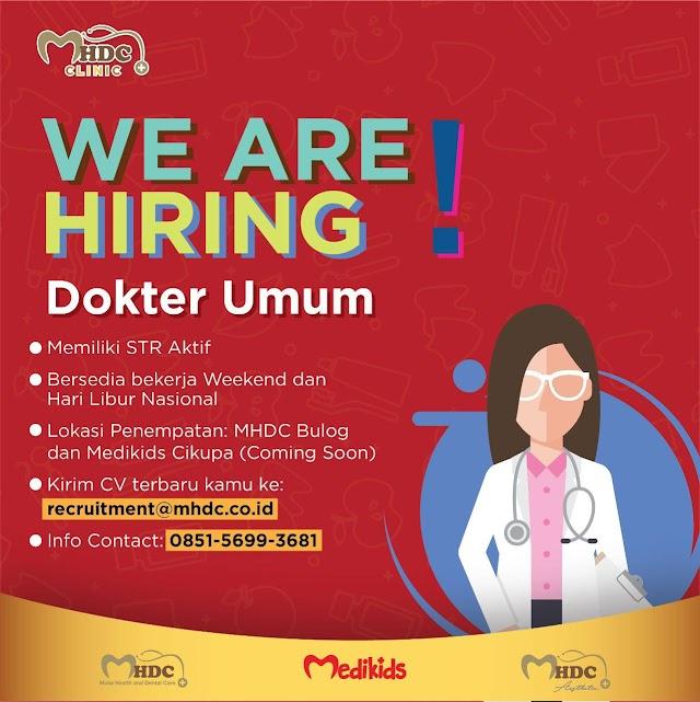 Loker Dokter MHDC Clinic