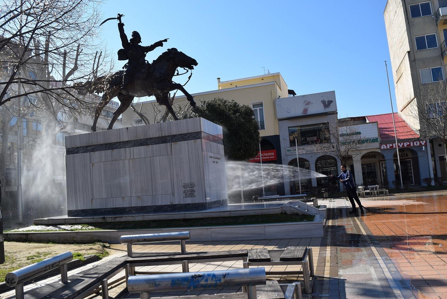 Σε απολυμάνσεις προχώρησε ο Δήμος Καρδίτσας