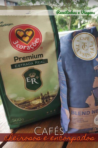 Café cheiroso para comprar no supermercado