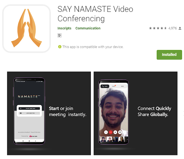 saynamaste app