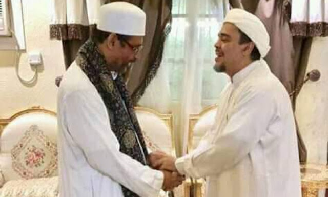 Kunjungi Kediaman HRS, KH. Luthfi Bashori: NU dan FPI Selalu Bersinergi