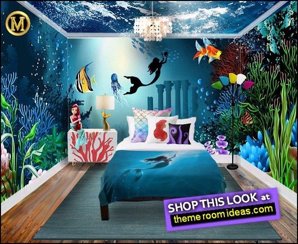 underwater bedroom ideas mermaid bedroom decor mermaid pillows