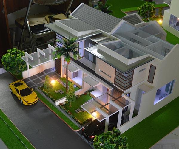 Arsitektur Rumah: Jasa Pembuatan Maket Miniatur Model Bangunan