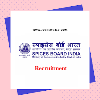 Indian Spices Board Chennai Recruitment 2019 for Trainee Analyst (5 Vacancies)