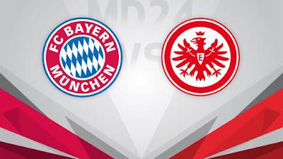مباراة بايرن ميونخ وآينتراخت فرانكفورت frankfurt vs bayern munich بين ماتش مباشر 20-2-2021 والقنوات الناقلة في الدوري الألماني