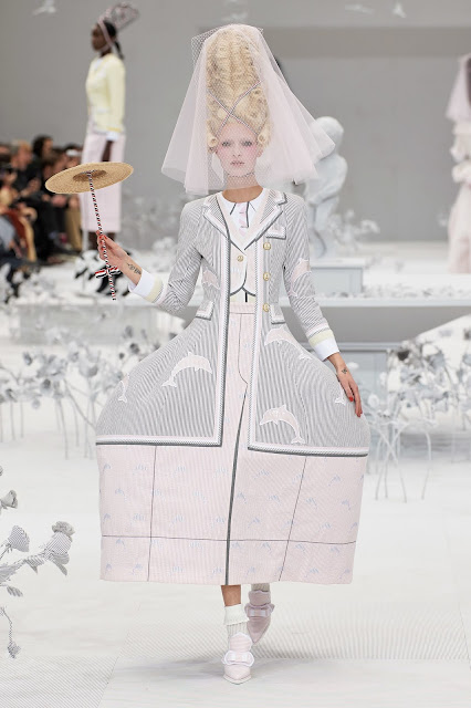 Thom Browne Spring 2020 Collection in Marie Antoinette Rococo Style