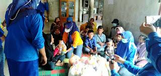 Srikandi Dermawan Bagikan Ratusan Bingkisan Bagi Kaum Dhuafa dan Anak Yatim
