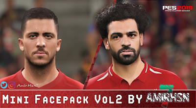 PES 2019 Mini Facepack Vol 2 by Amir.Hsn7