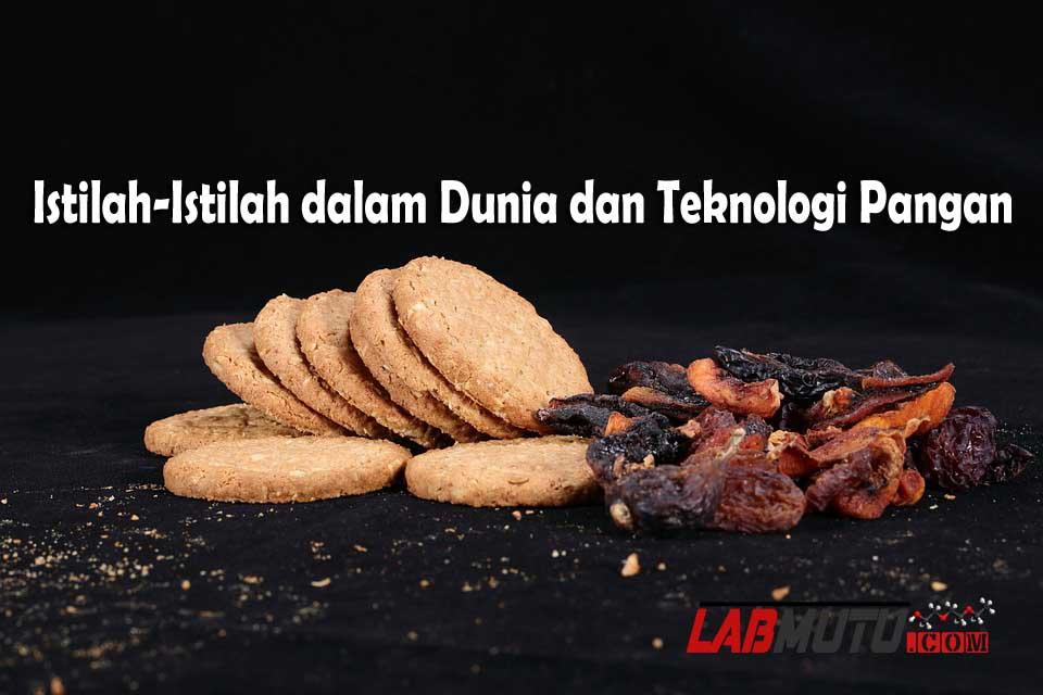 Istilah dalam Teknologi Pangan