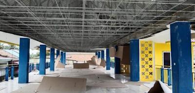 Revitalisasi Fisik Telan Biaya 2,6 M, Kondisi Pasar Desa Simpang Dolok Memprihatinkan